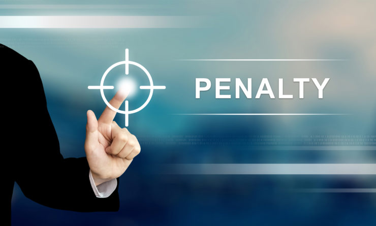 Reduce penalties