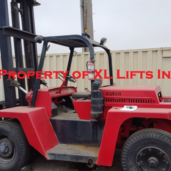 Used Industrial Clark Forklift 16,000 lb Capacity for Sale