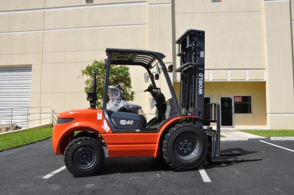 8000LB Rough Terrain Forklifts
