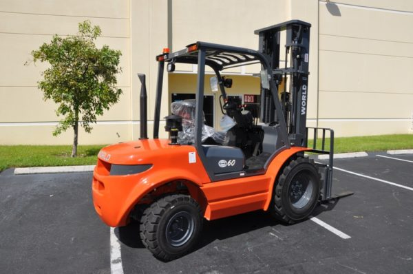 4000LB 2WD Rough Terrain Forklifts