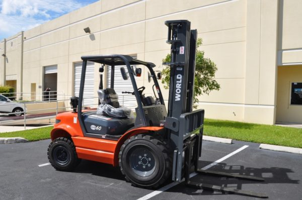 Rough Terrain Forklifts by World