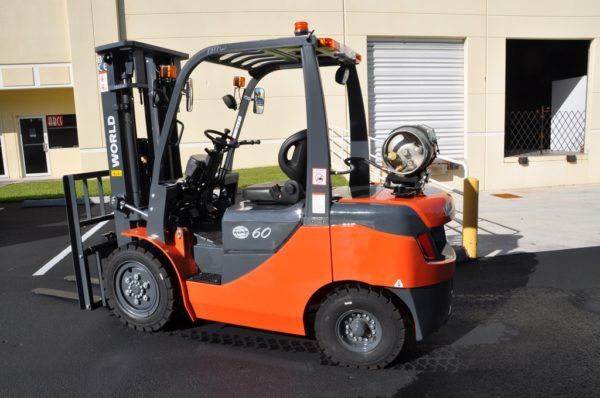LPG and Dual Fuel Forklift by world
