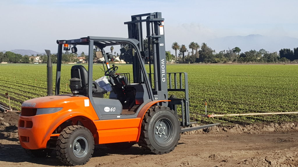 Rough Terrain Forklift
