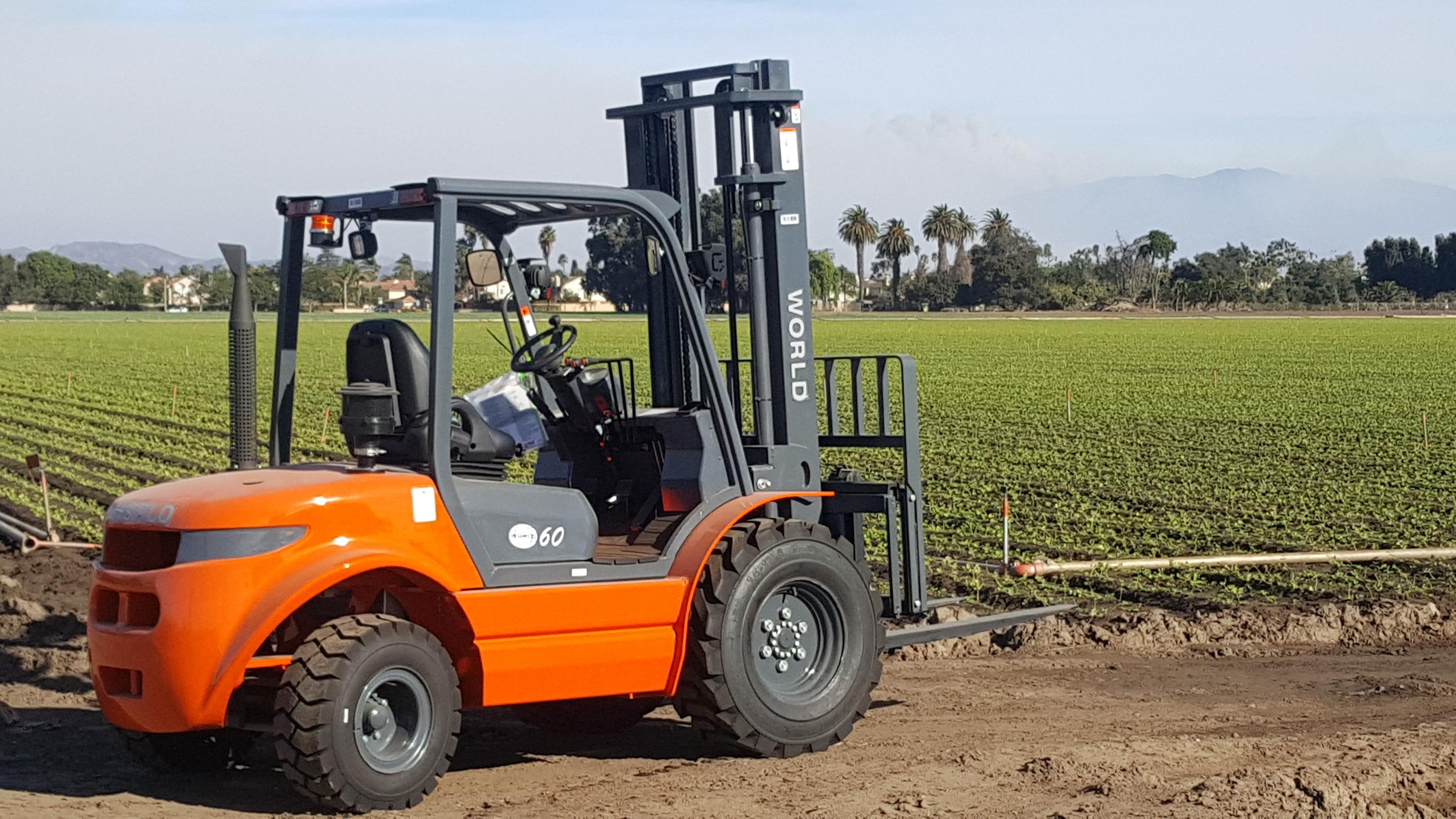 2WD Rough Terrain Forklifts | Ventura | XL Lifts