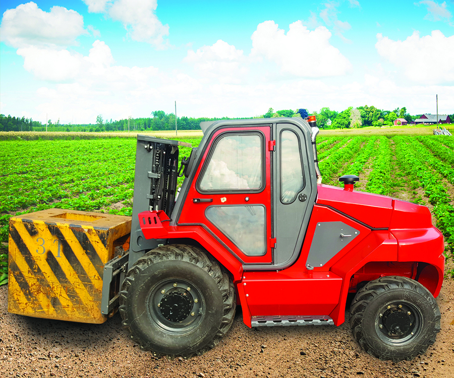 6000 LB Rough Terrain Forklifts by World