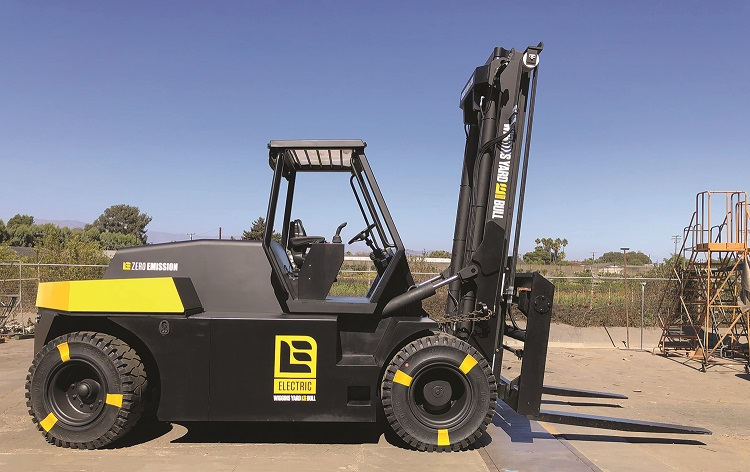 Large Capacity Electric Forklift by Wiggins - up to 88k
